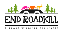 end roadkill logo support wildlife corridors