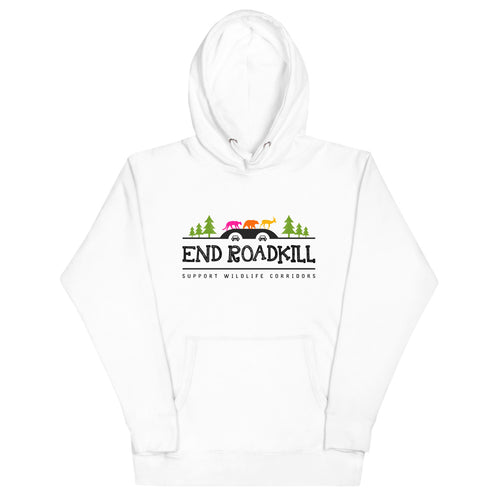 Unisex Hoodie END ROADKILL Multicolor with Trees