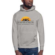 Load image into Gallery viewer, Unisex Hoodie It's Their Home, Let Them Roam Orange Sun