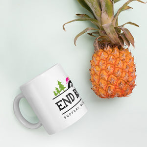 END ROADKILL Support Wildlife Corridors Multicolor Mug