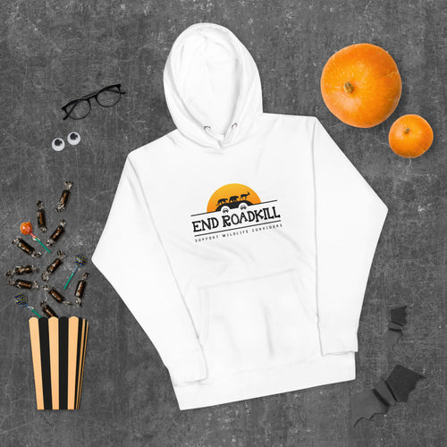 Unisex Hoodie END ROADKILL Orange Sun