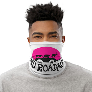 END ROADKILL Pink Sun Neck Gaiter / Face Mask