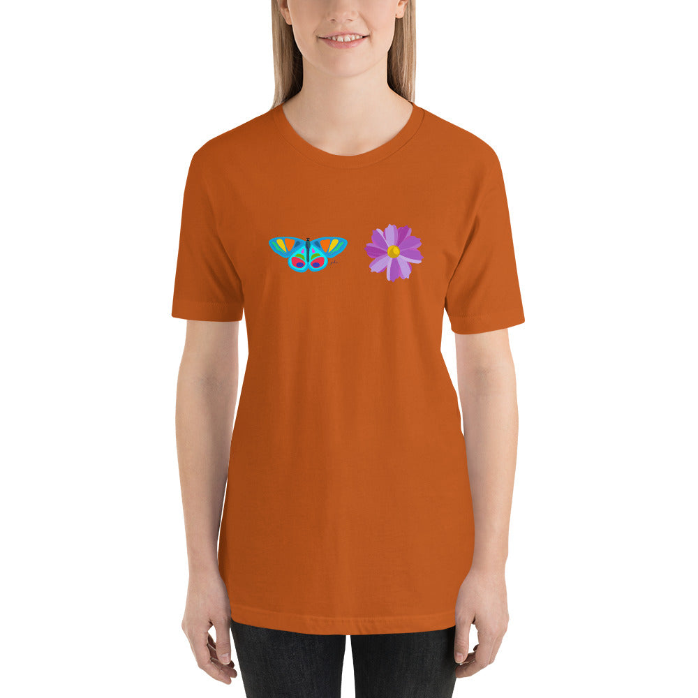 In Diversity Butterfly Graphic Unisex Tee