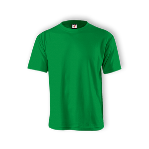 Round Neck T-shirt 100% Cotton: Kelly Green