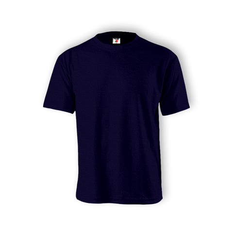 Round Neck T-shirt 100% Cotton : Blue Navy