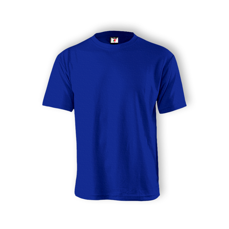Round Neck T-shirt 100% Cotton : Blue Royal