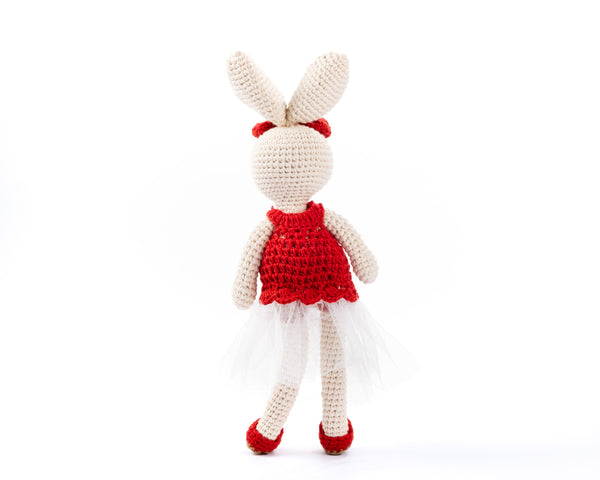 Rabbit - Bunny Bella Red 7032