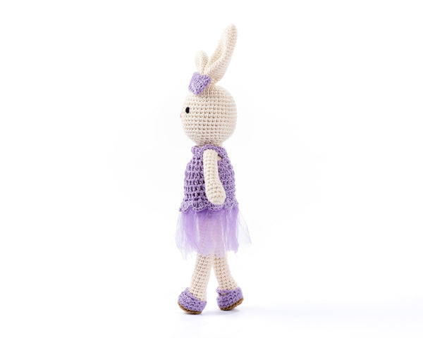 Rabbit - Bunny Bella Purple 7032