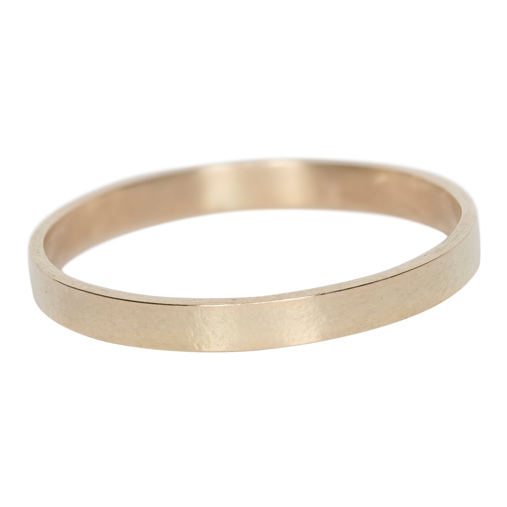 Wide imprinted band ring