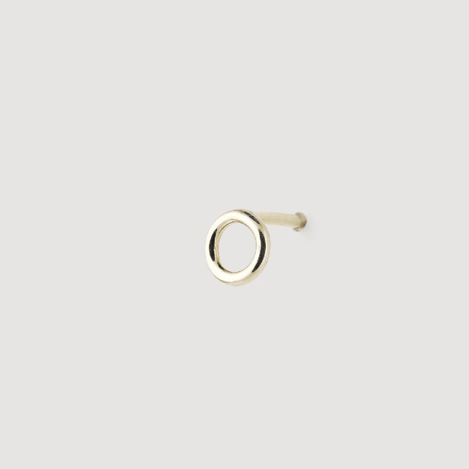 Small circle stud - Half pair