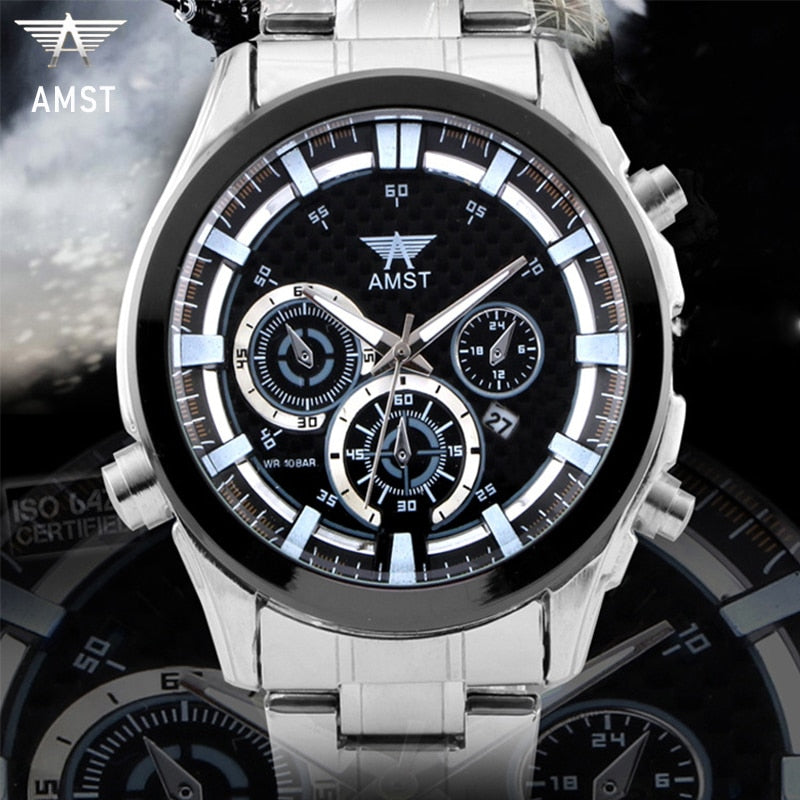 YSYH Mens Watches Top Brand Luxury Men's Sports Wrist Watch Men Waterproof Quartz Clock Relogio Masculino  New