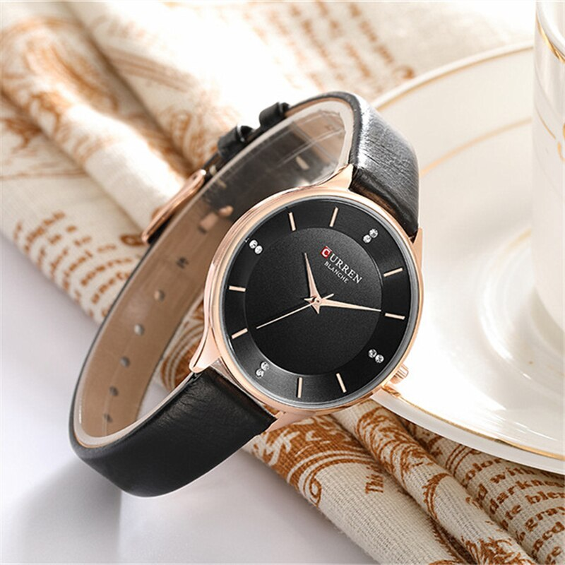 YSYH Brand Watch Women Fashion Leather Quatz Wristwatch For Womens Girls Diamond Dial 30M Waterproof Female Clock bayan saat