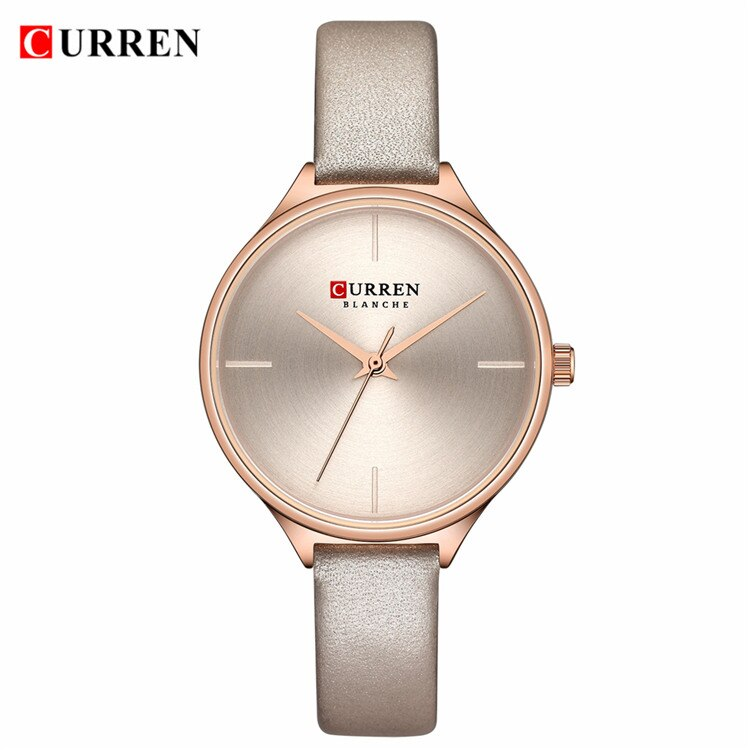 YSYH Ladies Watches Minimalist Wrist Watch for Women Casual Fashion Leather Strap Quartz Female Clock Simple Classy Watch