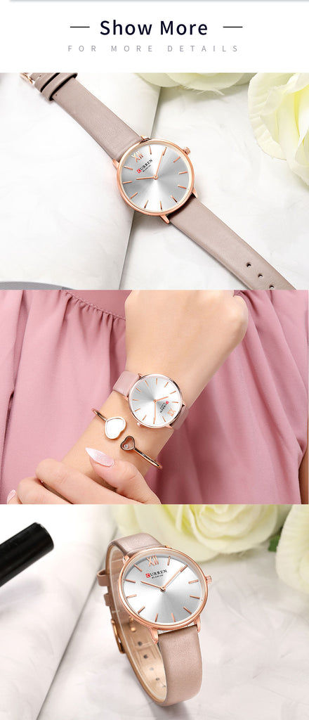 YSYH Leather Watches Women Luxury Brand Fashion Quartz Female Wrist Watch Dress Ladies Elegant Watch reloj mujer