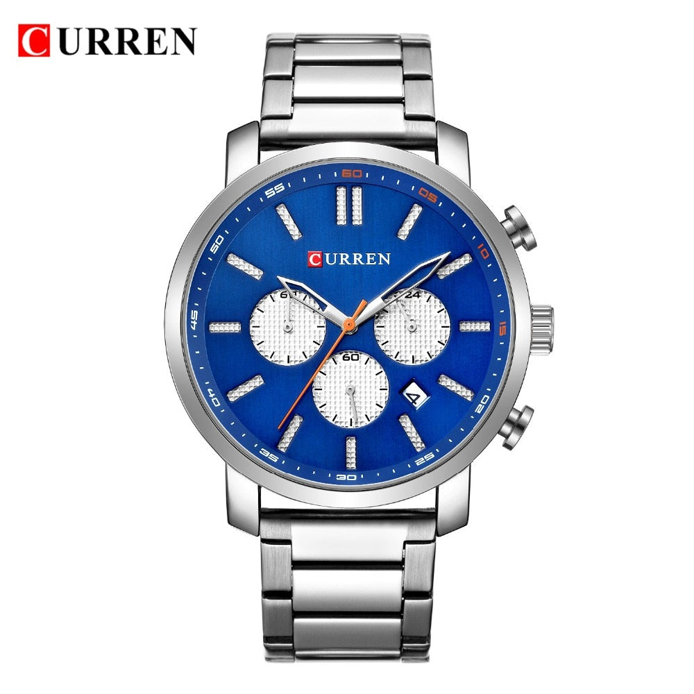 Luxury Men's Watches Date Clock Male Sports Timing Watches YSYH Mens Quartz Casual WristWatch