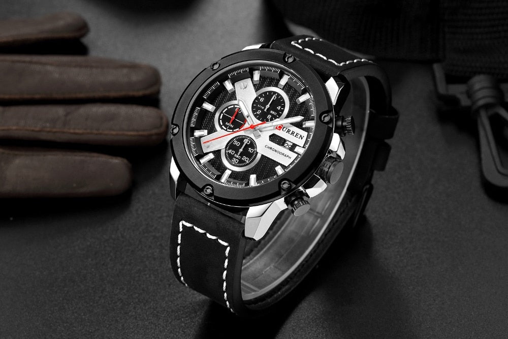 Watches For Men Luxury Brand YSYH Chronograph Casual Sports Wristwatch
