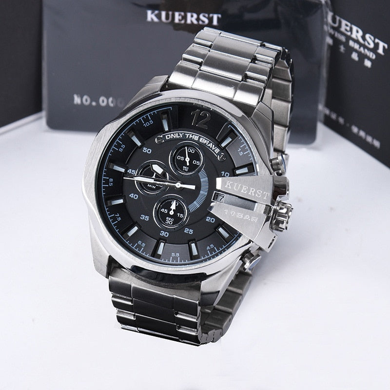 Men's Sport Watch Top Luxury Brand YSYH Waterproof Military Watch Male Gradient Glass Large Dial Multi-function Quartz Clock