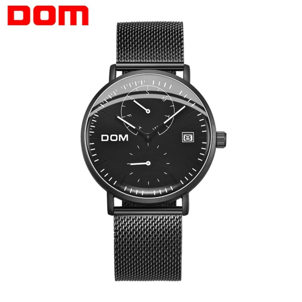 YSYH Brand Advanced Quartz Wristwatch Man Business Casual Waterproof Sports Multi-function Display Watch