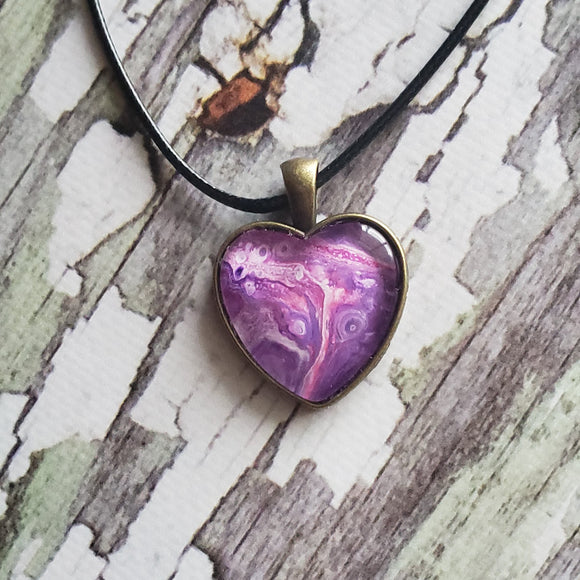 Heart Fluid Pendant