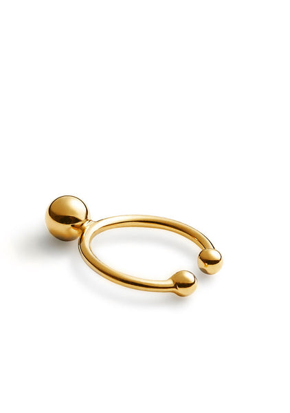 Ear Cuff Bullet II Gold