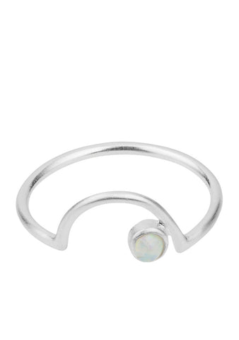 Coast Ring Silber