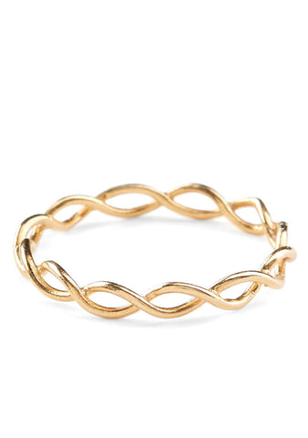 Entangled Ring gold