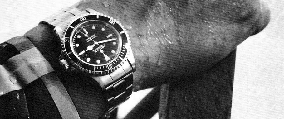 ROLEX SUBMARINER REF.5513  'THE PINNACLE OF VINTAGE ROLEX WATCHES'  LUEL MAGAZINE  DEC.  2015