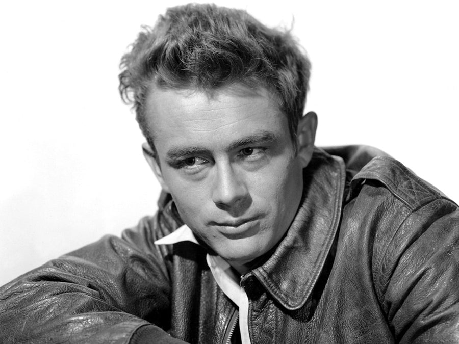 James Dean with A-2 Jacket - Early 1950's