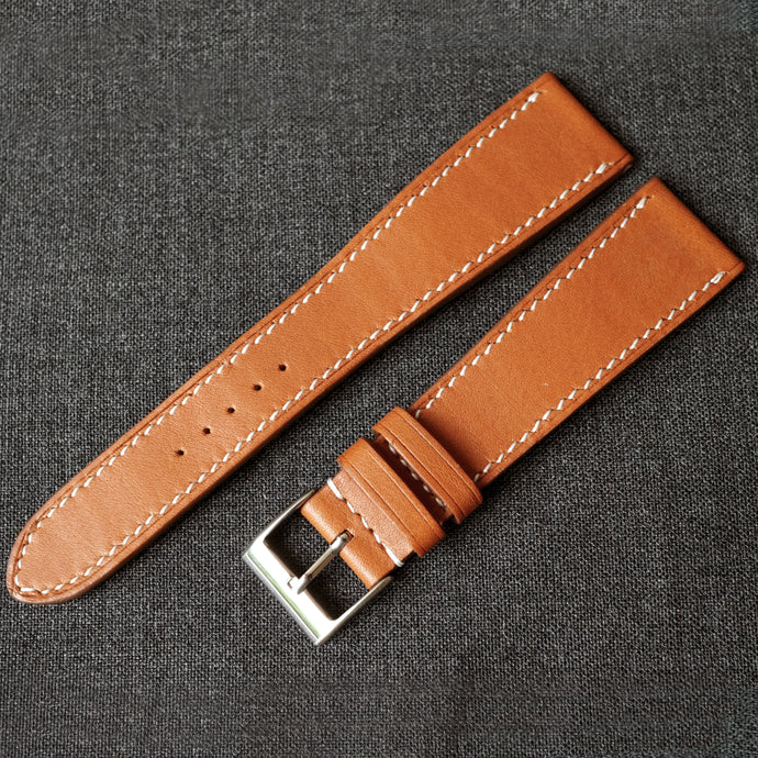 GOLD BARENIA SMOOTH CALF CUSTOM MADE STRAP