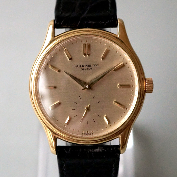1987 PATEK PHILIPPE CALATRAVA YG REF.3923 MANUAL WINDING WATCH