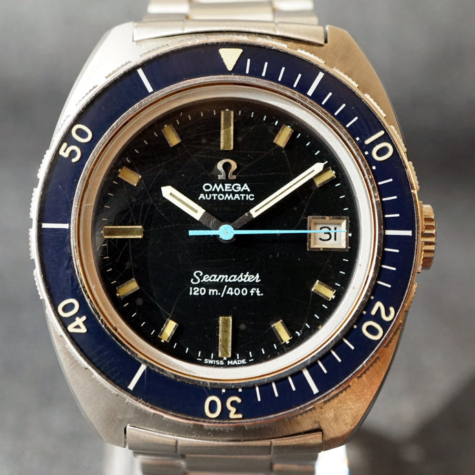 1970 OMEGA SEAMASTER 120M / 400FT REF.168.088 DIVER WATCH