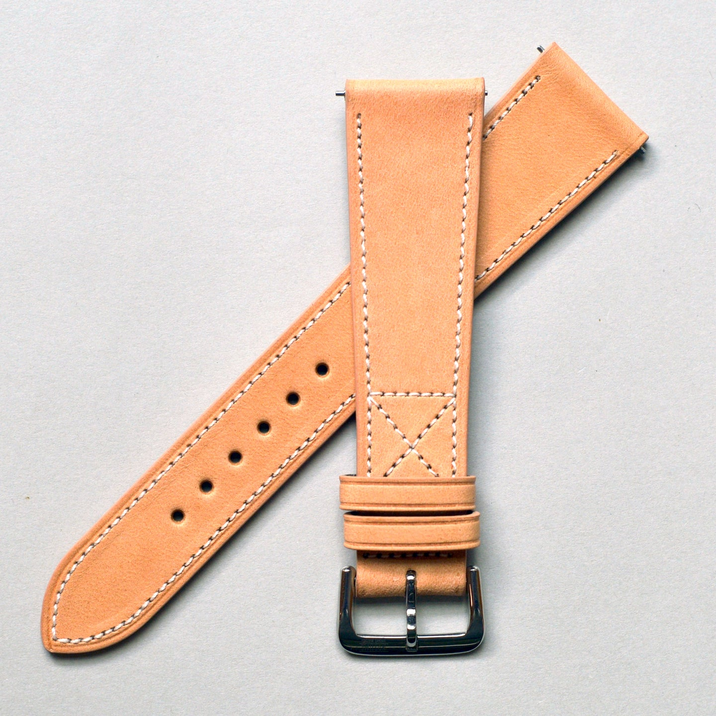 NATURAL SADDLE STANDARD STRAP