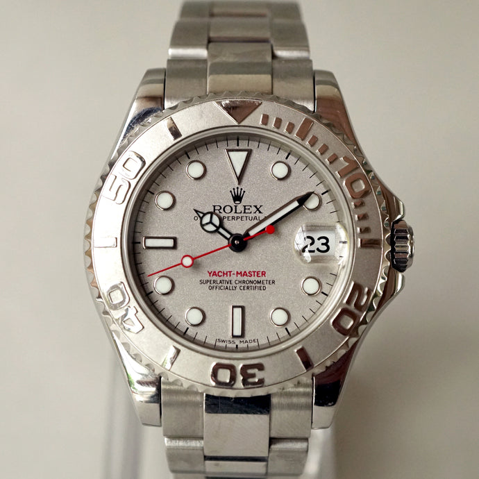 2002 ROLEX YACHT-MASTER MID-SIZED REF.168622 UNPOLISHED CONDITION