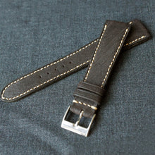 Load image into Gallery viewer, DISTRESSED DARK BROWN CUSTOM MADE STRAP