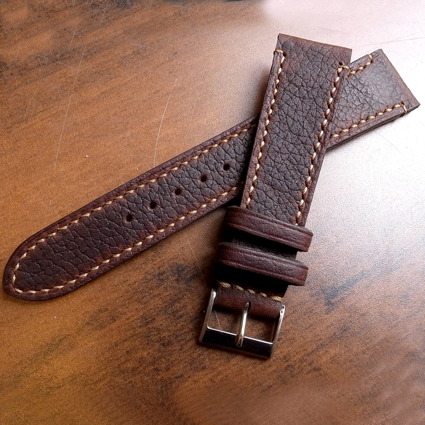 OILTAN BROWN RED WING BOOT CUSTOM MADE STRAP