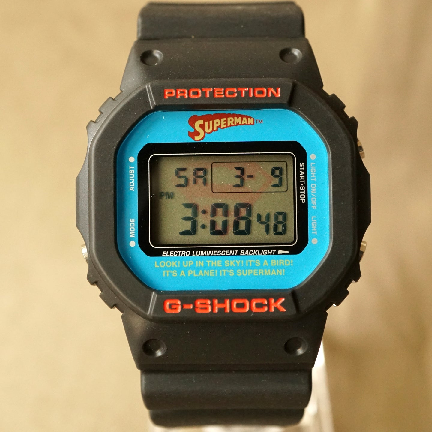 2007 CASIO G-SHOCK DW-5600VTSUP-1TJR DC COMICS EDITION