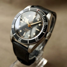 Load image into Gallery viewer, 2017 TUDOR HERITAGE ETA BLACK BAY BLACK REF.79220N DIVER WATCH
