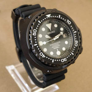 "2015 SEIKO MARINEMASTER ""EMPEROR TUNA"" 1000M SBDX011 / 8L35-00C0 DIVERS WATCH"