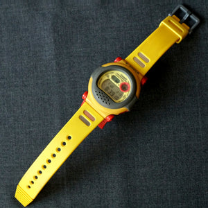 "1994 VINTAGE CASIO G-SHOCK DW-001 ORIGINAL ""YELLOW JASON"""