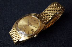 1966 OMEGA SOLID 18K YELLOW GOLD CONSTELLATION REF.168017