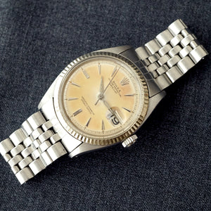 1962 ROLEX DATEJUST REF.1601 EARLY STYLED DIAL AND HANDS