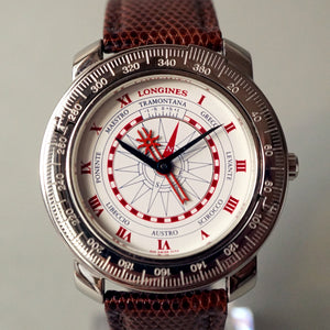 1992 LONGINES CHRISTOBAL C 1492 EDITION AUTOMATIC WATCH