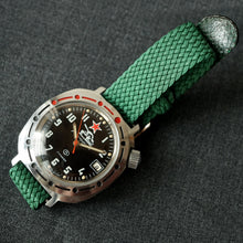 Load image into Gallery viewer, 1980s USSR VOSTOK KOMANDIRSKIE TANK MILITARY WATCH