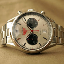 Load image into Gallery viewer, 2012 TAG HEUER CARRERA CV2119.BA0722 JACK HEUER 80TH B-DAY LIMITED EDITION