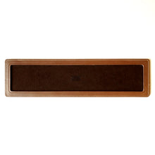 Load image into Gallery viewer, DARK BROWN LEATHER SINGLE WATCH TRAY