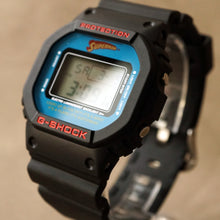 "Load image into Gallery viewer, 2007 CASIO G-SHOCK DW-5600VTSUP-1TJR DC COMICS EDITION ""SUPERMAN"""