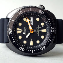 "Load image into Gallery viewer, 2018 SEIKO PROSPEX DIVERS ""THE BLACK SERIES"" EDITION SRPC49J1 NEW"
