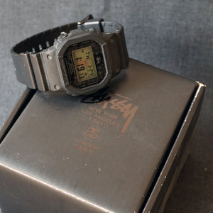 2008 CASIO G-SHOCK DW-5000ST-1JR STUSSY 25TH ANNIVERSARY EDITION MINT