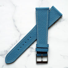 Load image into Gallery viewer, FRENCH BLUEJEAN GRAINED CALF STANDARD STRAP