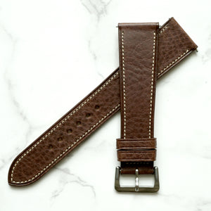 DARK BROWN BOX CALF STANDARD STRAP